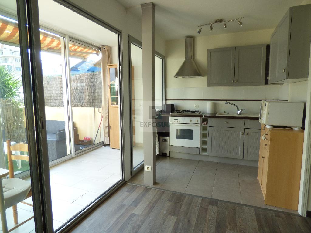 Location Appartement LE GOLFE JUAN surface habitable de 42.14 m²