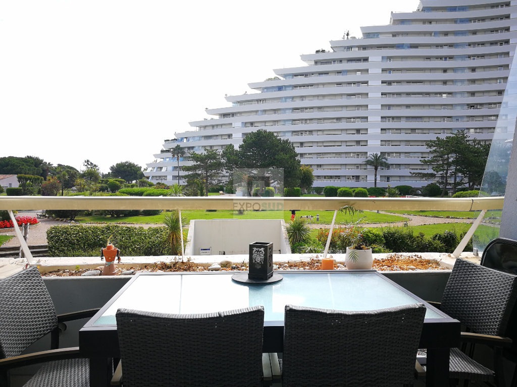 Vente Appartement VILLENEUVE LOUBET séjour de 21 m²